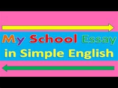 Essay on importance of English in simple words